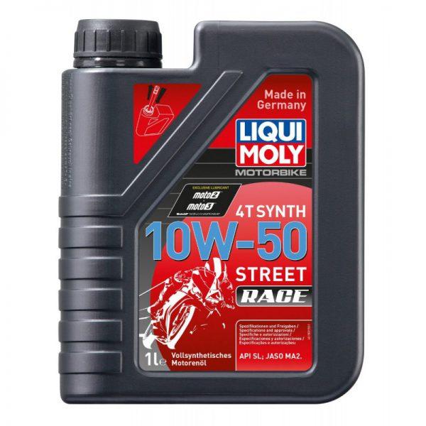 MOTORBIKE 4T SYNTH 10W-50 STREET RACE